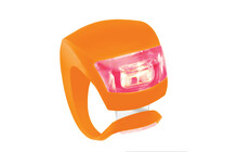 Knog Beetle rote LED orange